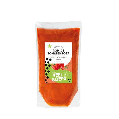 Heel veel soeps - Romige tomatensoep