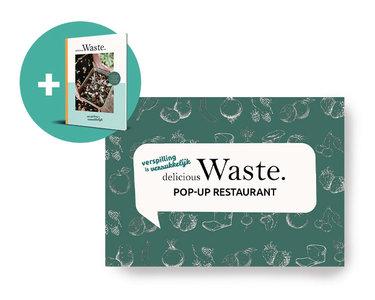 Ticket Delicious Waste POP-UP restaurant 13 oktober + Kookboek